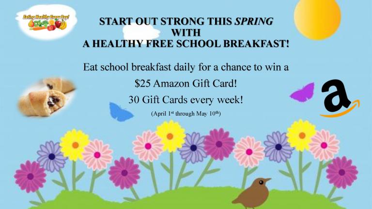 MDCPS Spring 2019 Breakfast Promotion Flyer